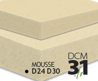 Ameublement mousse Polyether D24 D30