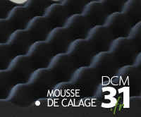 Mousse de calage, mousse de protection